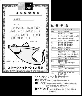 段階別指導画像 スポーツメイトウィン福島